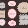 Cute frames - Grafika wektorowa