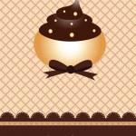 Wafer cupcake design — Stock Vector #3281856