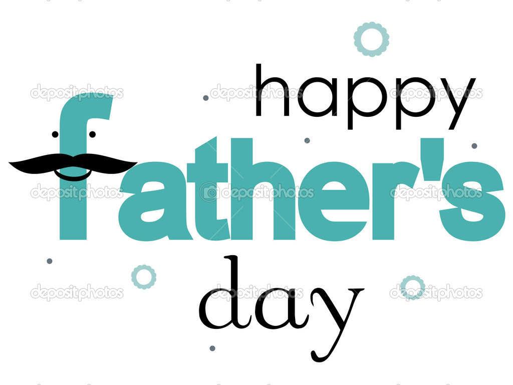 Vector illustration of funny father's day card — Stock Vector #3310095