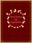 圣诞复古设计 — 图库矢量图片