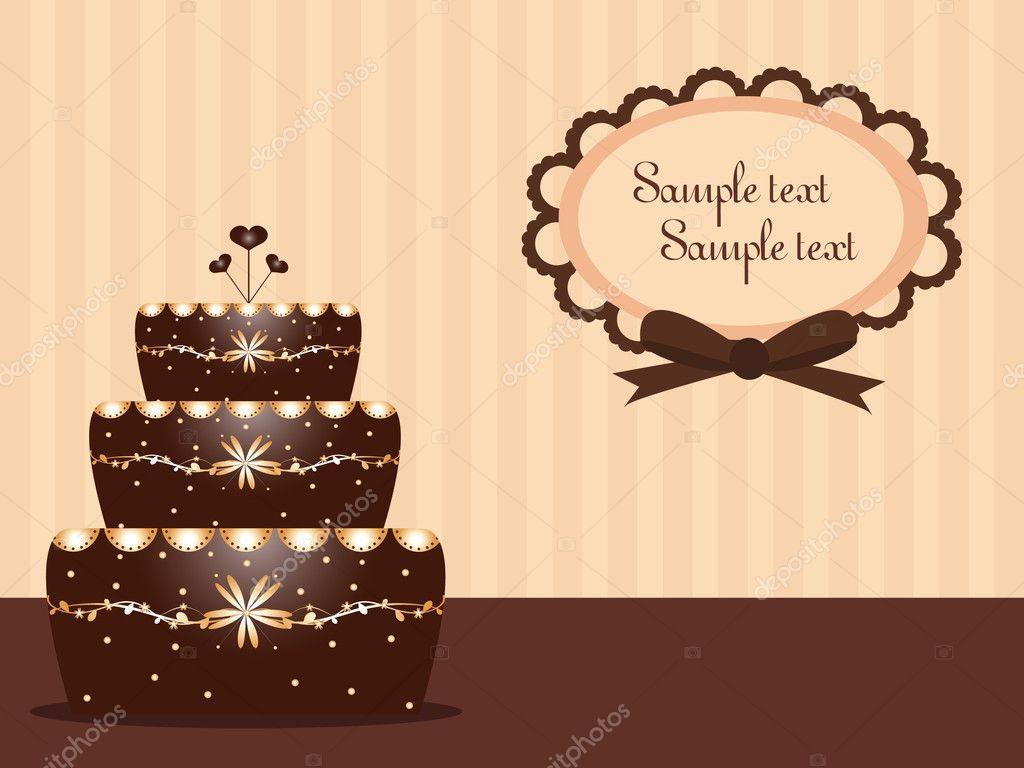 Background Image Chocolate Chocolate Cake Background