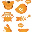 Royalty-Free Stock Vector: Rss feed animal icon