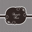 Cute vintage template — Stock Vector #3721794