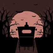 Halloween pozadí — Stock vektor