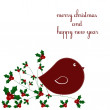 Holiday card — Stock Vector #3869041
