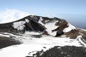 Yanardağı etna dağı krateri — Stok fotoğraf