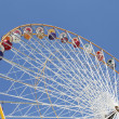 Ferris wheel in an amusement park — Stock Photo