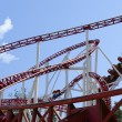 Rollercoaster in an amusement park — Stock Photo #3506047