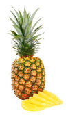 Pineapple on white — Stock Photo