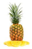 Pineapple on white — Stock Photo