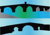 Ilustração de pontes — Vetorial Stock