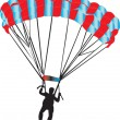 Paratrooper - Stock Vector