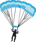 Fallschirmjäger — Stockvektor