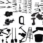 Hand ekipments collection — Stock Vector