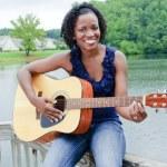 Beautiful African-American Woman — Stock Photo #3737443