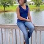 Beautiful African-American Woman — Stock Photo #3737564