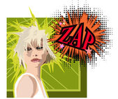 Zap — Stock Photo