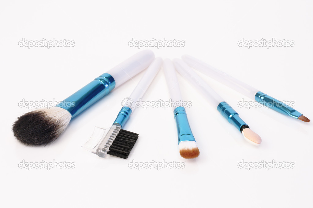 Set of makeup on white background — Stock Photo #2768998