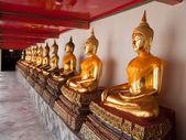 Guardian heykeller. bangkok. — Stok fotoğraf