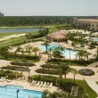 Stock Photo: Resort Pools and Golf Course