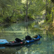 Stock Photo: Kayak in Spring