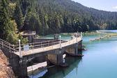 Lake Mills and Glines Canyon Dam — Stock Photo
