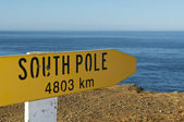 South Pole Sign — Stock Photo