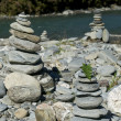 Cairn Stacks — Stock Photo