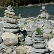 Stock Photo: Cairn Stacks