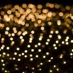 Defocused yellow light effect — Stock Photo