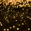 Defocused yellow light effect - Stock Photo