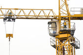 Busy construction site — Stock Photo