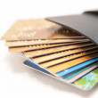 Too Much Credit Card In Wallet — Stock Photo #3774949