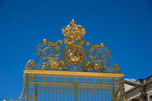 The gate at Versailles Palace in France — Stock Photo