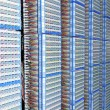Servers in a datacenter — Stock Photo #2709309