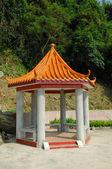 Chinese gloriette — Stock Photo