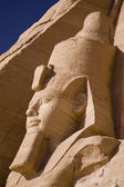 Stone statue in Egypt — Stock Photo