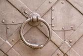 Steel knocker — Stock Photo