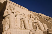 Stone statues in Egypt — Stock Photo