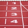 Track lanes, numbers — Stock Photo #3282530