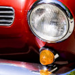 Car headlight — Stock Photo