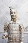 Xian China: Terracotta Warrior Statue (A — Stock Photo