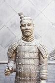 Xian China: Terracotta Warrior Statue (A — Stock Photo