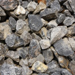 Crushed stone as natural background — Stock Photo