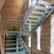Glass stairway — Stock Photo #3404656