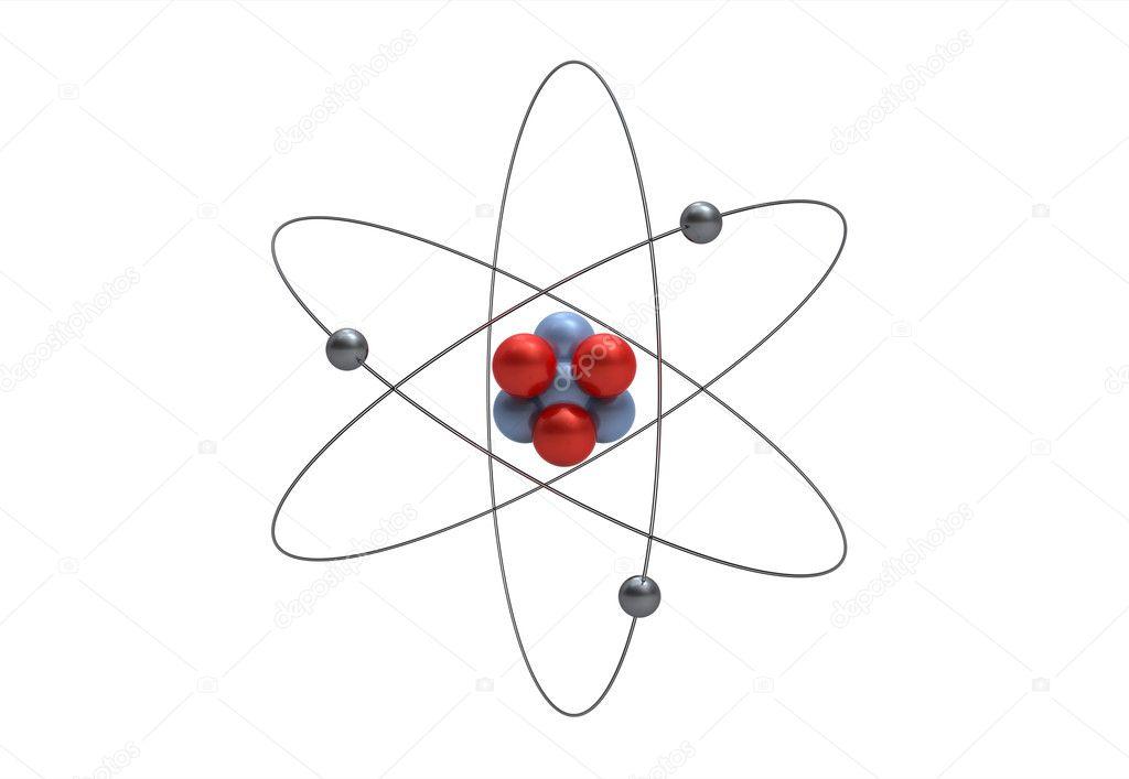 model of a lithium atom  u2014 stock photo  u00a9 boris15  2979724