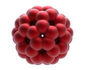 Model of molecule fulleren — Stock Photo