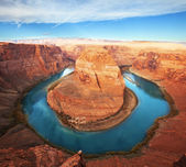 Horse shoe bend — Stockfoto