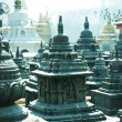 Stock Photo: Buddist temple