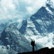 Hiking in mountains — Stock Photo #2938794